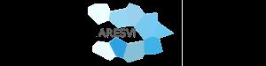 Logo en nuances de bleu de l'ARESVI-Association de Recherche et d'Étude sur la Santé, la Ville et les Inégalités.