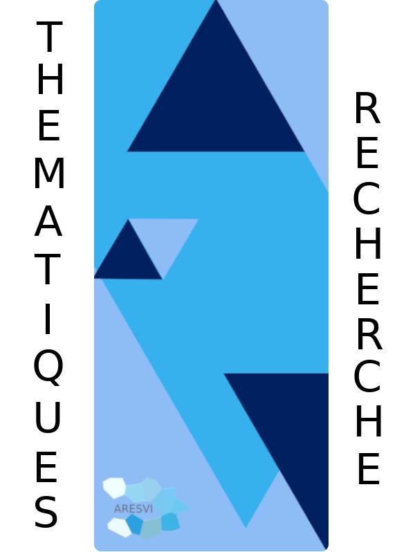 Logo illustrant les thématiques de recherche de l'association ARESVI et conduisant sur la page Recherches, Études et diagnostics du site.