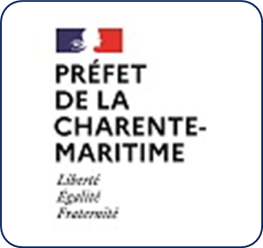 Logo représentant la préfecture de la Charente-Maritime (17) et permettant d'accéder aux informations et ressources concernant les violences conjugales dans ce département.